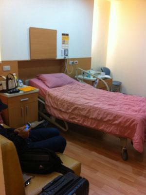 ざっくり書きます!台湾の産科で「陣痛室で分娩を待つ=待産」