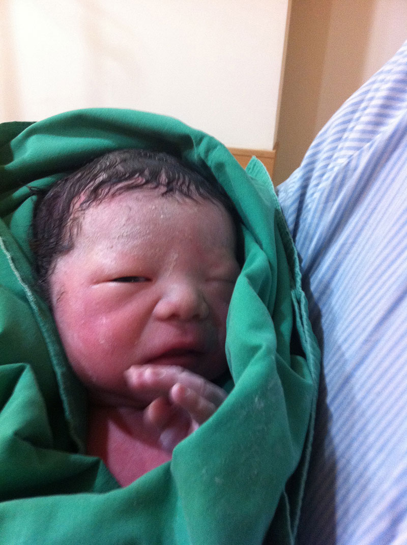 台安病院,出産レポート,分娩,海外出産,海外妊娠生活