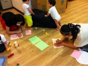 台北,子ども遊び,日本語,英語