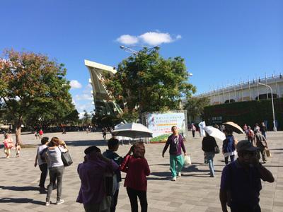 花博の跡地・花博公園が、とっても楽しいことになっていた!「MAJI MAJI集食行樂」