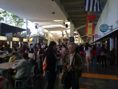 花博公園,台湾のお土産,フードコート,神農市場,MAJIMAJI集食行樂
