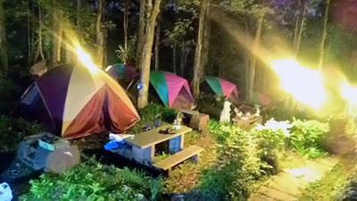 台湾で子ども子連れキャンプ,ウーライ,烏来,文山農場