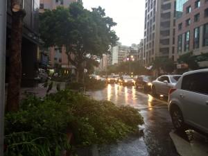 スーパー台風「蘇迪勒 Soudelor」が台湾を過ぎ去って行きました