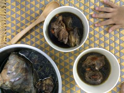 電気鍋レシピ,漢方スープ,十全大補湯,台湾
