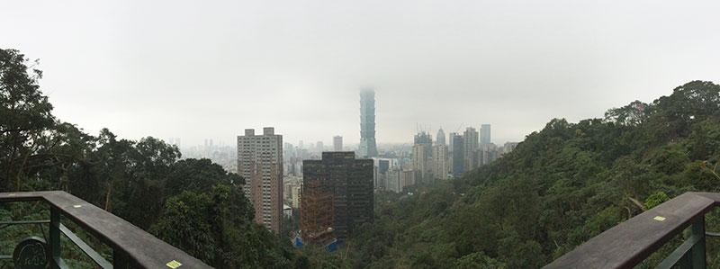 象山,台北101,デート,台湾,登山,子供,ロケーション,展望スポット