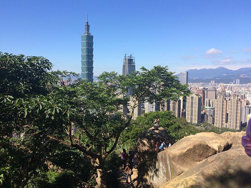 象山,台北101,デート,台湾,六巨石,ハイキング,登山,子供,絶景