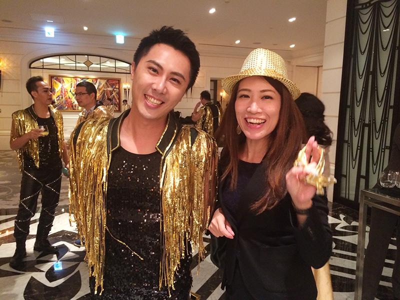 Yahoo台湾,広告代理店,忘年会,尾牙,マンダリンオリエンタル