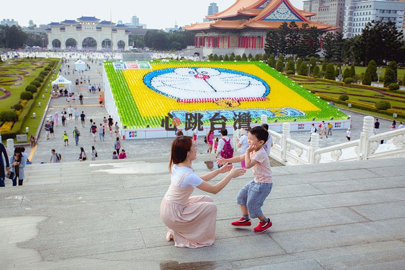 台湾,台北,記念撮影,子供,七五三,中正紀念堂