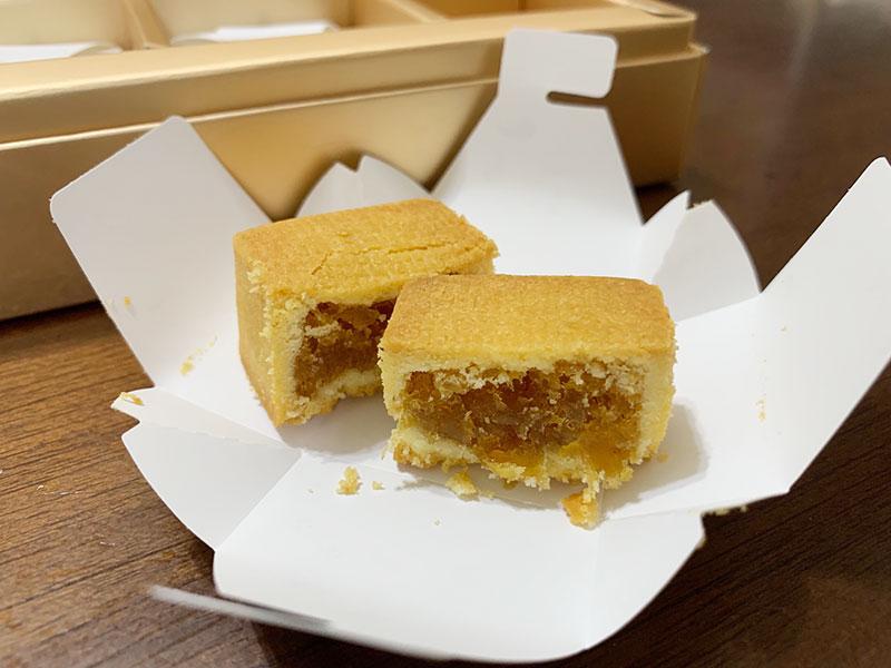 ホテルロイヤルニッコータイペイ老爺大酒店のパイナップルケーキ