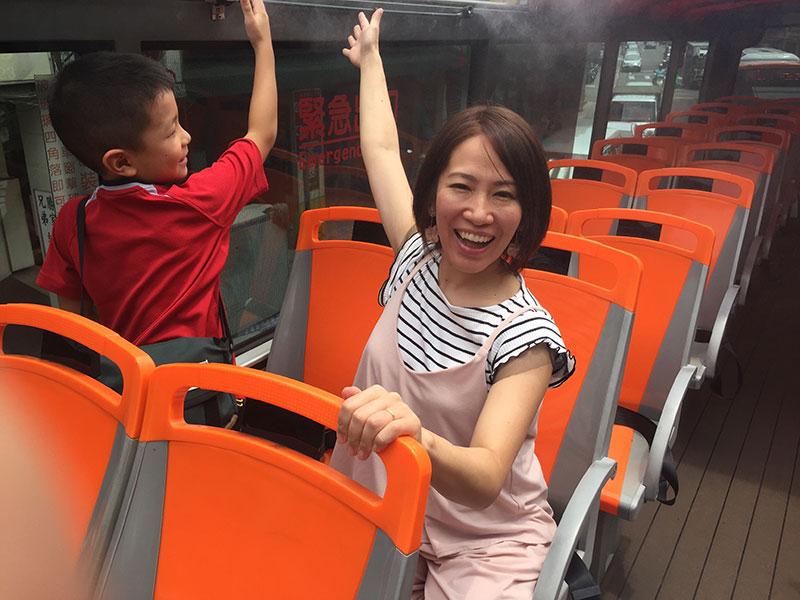 2階建て台北観光バス,チケット,ルート,乗り場,乗り方,乗り放題,子連れで台北旅行