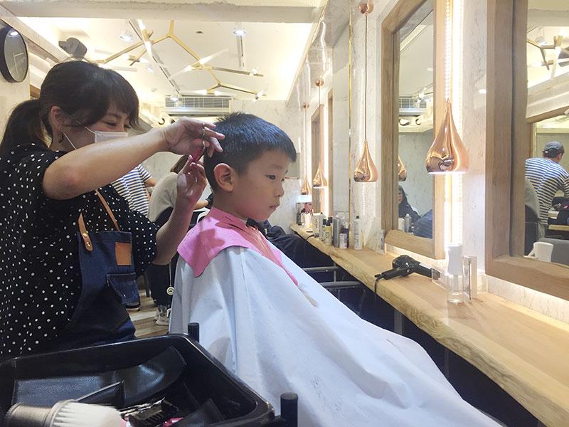 台北,ヘアサロン,日本人,子供,台湾式シャンプー,おすすめ,FreedomJapan,フリーダム