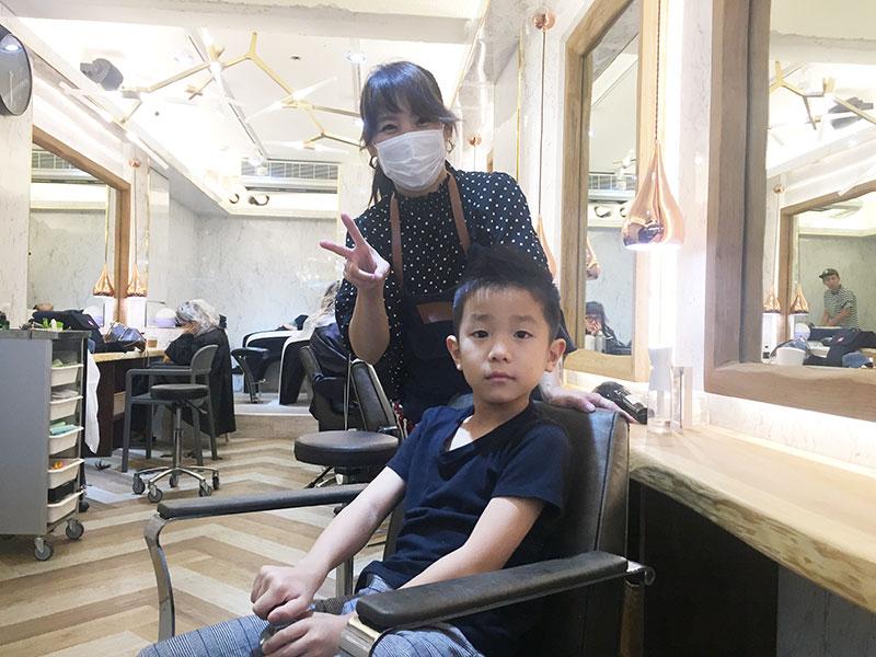 100元カット卒業!子供のヘアカットを「Freedom Japan 台北店」で体験