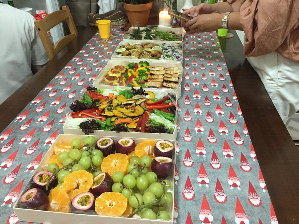 今年、7歳の誕生日パーティのお料理は、またまたもちろんTaipeigohanにお願いしました!
