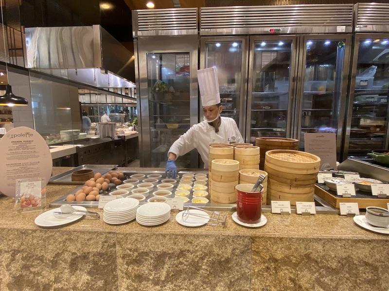 グランドメイフルホテル台北宿泊記,ホテルプール,ビュッフェレストラン彩匯,palette,台湾料理,米香MIPON,牛肉麺,子連れ
