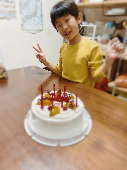 紅葉蛋糕,誕生日ケーキ