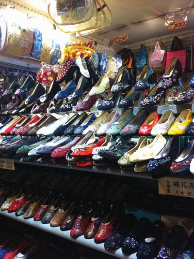 チャイナシューズ,台湾,台北,西門,お土産