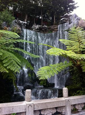 龍山寺 滝