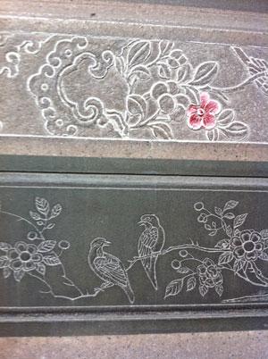 龍山寺 彫刻