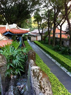 林本源園邸,府中駅,台北,日本語,開放時間,休園日,庭園建築