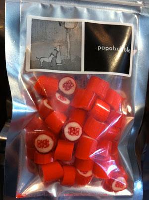 Papabubble,パパブブレ,キャンディー,飴,おみやげ,お土産,台湾,台北