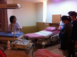 分娩室,入院施設,見学,ツアー,入院セット,台安病院,待産房,labour