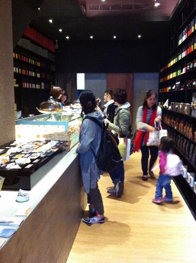 お茶,茶芸館,おしゃれ,スイーツ,ケーキ,洋菓子,永康街,小茶栽堂